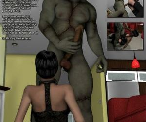 Comics 3DFiends- Monster Chronicles 16, blowjob  forced