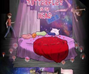 Comics Gravity Falls- Butterflies in my Head.., blowjob , threesome  incest comics