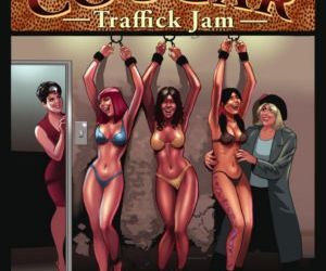 Comics Coochie Cougar 03- TrafficK Jam, forced , bdsm  big-boobs