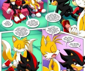 Comics The Prower Family Affair - Foxy Black, furry  sonic the hedgehog
