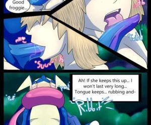 Comics The Princess And The Frog - part 2, pokemon  furry