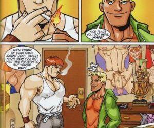 Comics The Match, yaoi  gay & yaoi