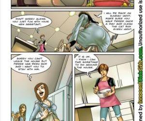 Comics The Housesitter shemale