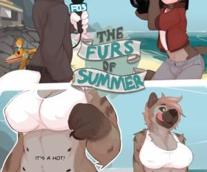 Comics The Furs Of Summer, threesome  furry