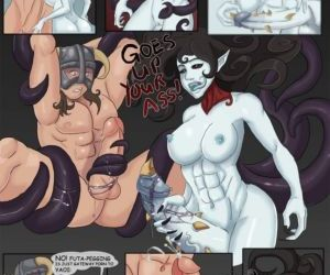 Comics The Dragonborn Cometh - part 3, threesome  orgy