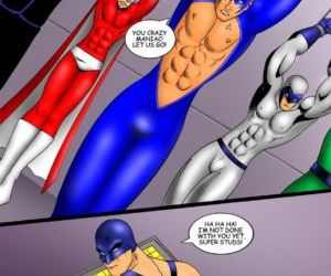 Comics The Super Studs 2, bondage , superheroes  iceman-blue