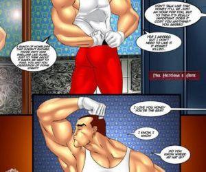 Comics Santas charity, seiren  cheating