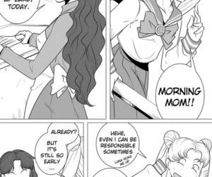 Comics Sailor Moon - The Beauty Of A Mother, mother  mom