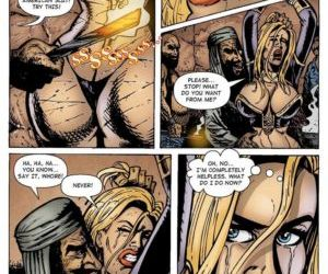 Comics Sahara vs Taliban 2 - part 2, superheroes  bondage