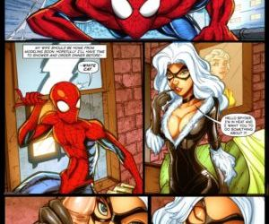 Comics Spydersperm 1, threesome , cheating  superheroes