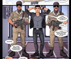 Comics Ridehard 1, bondage  black & interracial