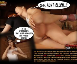 Comics Ranch - The Twin Roses 1 - part 4, mom  3d