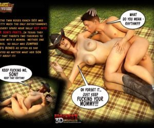 Comics Ranch - The Twin Roses 1 - part 2, mom , 3d  mother
