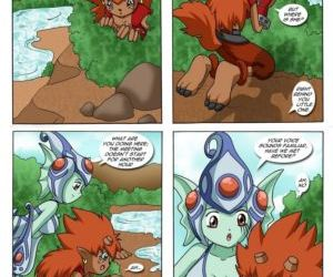 Comics Ranamons Fan, furry  digimon