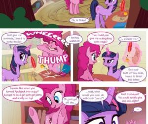 Comics Pinkies Dingdong, my little pony  furry
