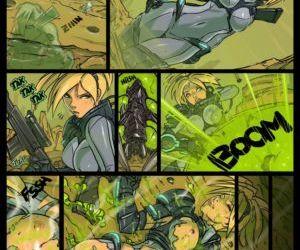 Comics Nova, Mistress Of Blades transformation