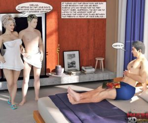 Comics Private Love Lessons 1 - part 3, threesome , cheating  3d