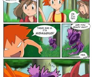 Comics Poke-Girl Now, pokemon , transformation  furry