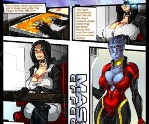 Comics Mass Effect 1, yuri  lesbian & yuri & girls only