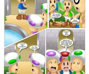Comics Mario Project 3, orgy  palcomix