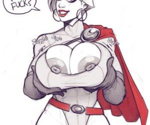 Power Girl On Darkseid - part 3
