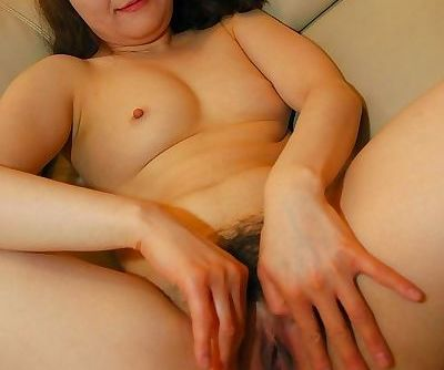 Pretty mature asian has a nice..