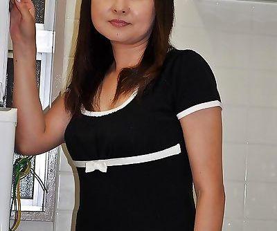 Yasuko Yoshii stripping and..