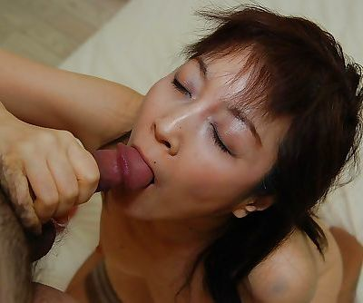 Asian MILF Shinobu Yabe gives..