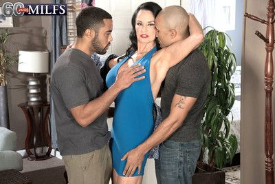 Mature rita daniels gets bbc double penetration
