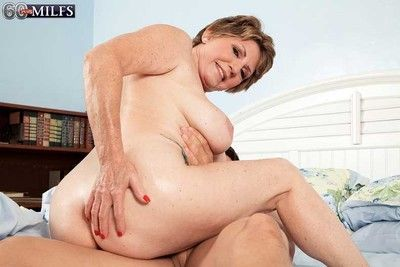 Granny milf bea cummins craving a stiff dick