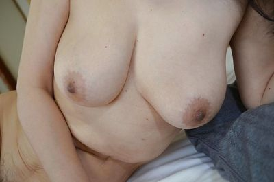 Great looking natural tits on Tsuyako Miyataka who is a hairy mature - part 2