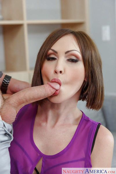 Ball licking