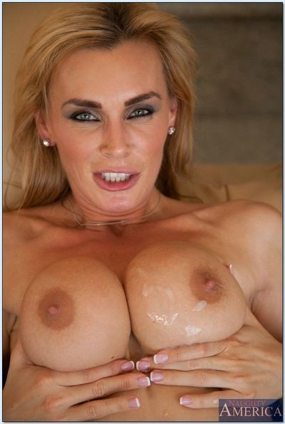 MILF babe with big tits Tanya Tate giving a blowjob and ass fucking - part 2