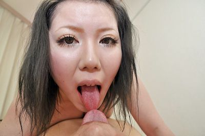 Asian MILF Aya Uchiyama gets her hairy cunt pumped and creampied