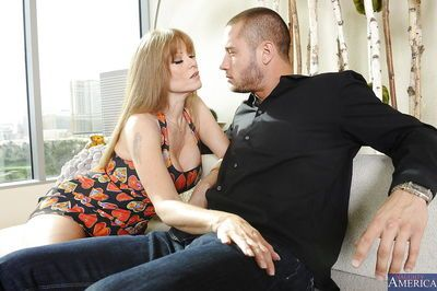 Amazing mature Darla Crane adores fucking with handsome fellows