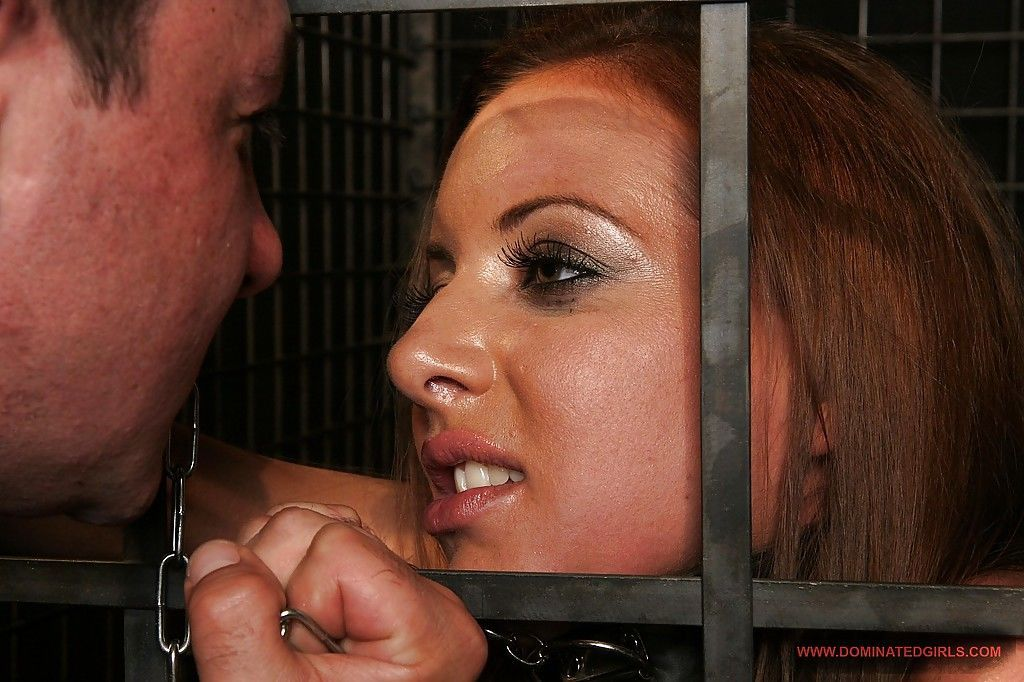 Lascivious BDSM gal gets her asshole drilled hardcore and creampied