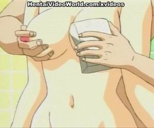 Hentai pussy fingered in bathroom before hot sex - 8 min