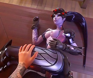 Widowmaker Gets Pounded - 2 min