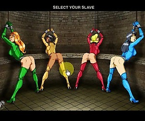 Captured Totally Spies fucked till they speak - Adult..