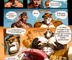 Jungle Dream Park comics and characters