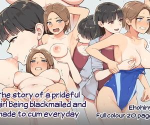 Ehohinya Ehohin Pride Takai Ko ga Yowami o Nigirare Dousei ni Mainichi Ikasareru Hanashi - The Story of a Prideful..