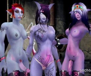 World of Warcraft Screen Manipulations