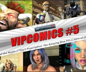 VipComics #5α Defenders of the Realm