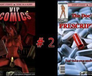 VipComics #1 : The Docs Prescription