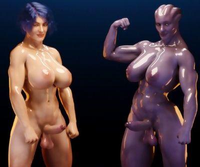 Squarepeg3D- Futa Effect – Heilla vs Melanie