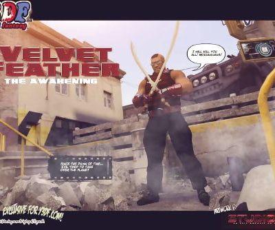 Y3DF- Velvet Feather