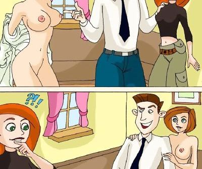 Drawn-Sex- Kim Possible-Competitions Families