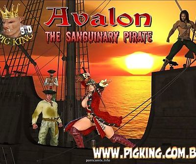 Pig King- Avalon Sanguinary Pirate