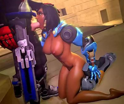 Sexy Pharah Overwatch Video