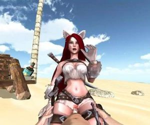 Katarina League Of Legends 3D..
